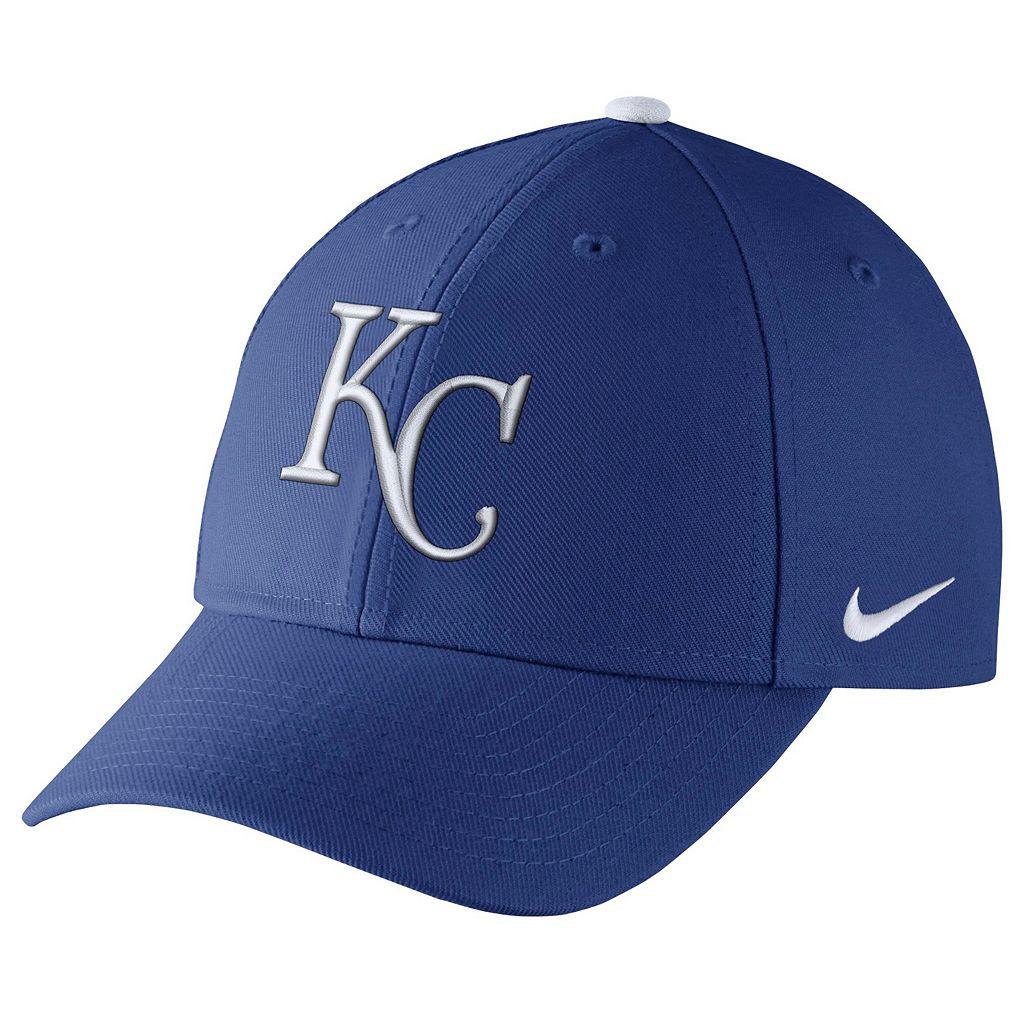 Adult Nike Kansas City Royals Wool Classic Dri-FIT Adjustable Cap