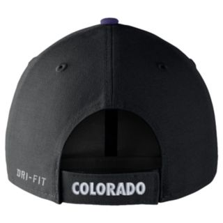 Adult Nike Colorado Rockies Wool Classic Dri-FIT Adjustable Cap