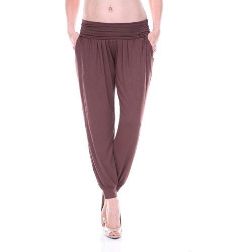 White Mark Soft Jogger Pants - Women's