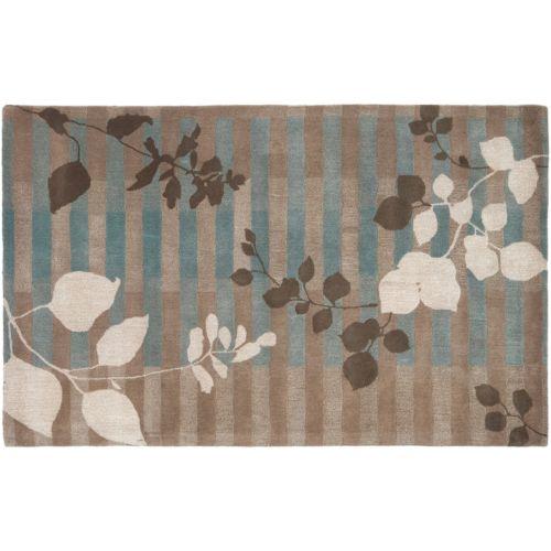 Surya Stella Smith Leaf Wool Rug