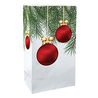 LumaBase Luminarias 24 pc Christmas Ornament Bags