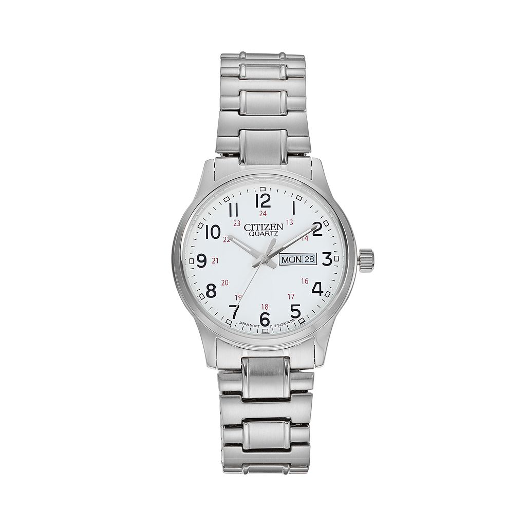 Citizen Men's Stainless Steel Expansion Watch - BF0610-91A