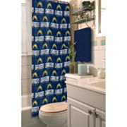 San Diego Chargers Shower Curtain