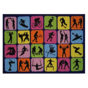 Fun Rugs Fun Time Sports Rug