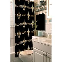 New Orleans Saints Shower Curtain