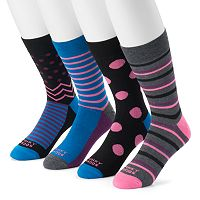 Men's Funky Socks 4-pack Crew Socks