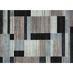 Merinos City Blocks Geometric Rug