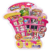 Shopkins Lip Crayon, Lip Gloss, Nail Polish, Balm, Hair Clips, Body Gems & Temporary Tattoos Beauty Set