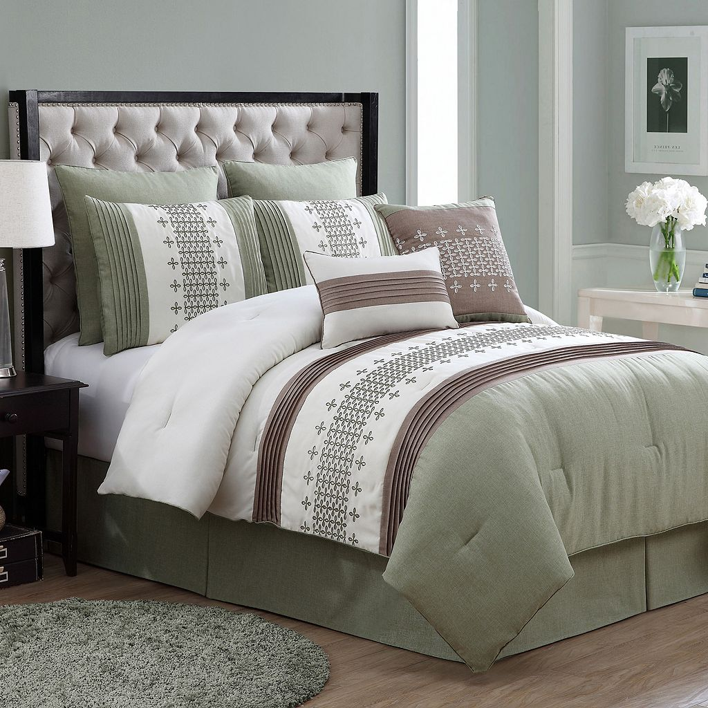 VCNY Geneva 8-pc. Comforter Set