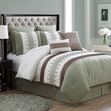 VCNY Geneva 8-pc. Comforter Set