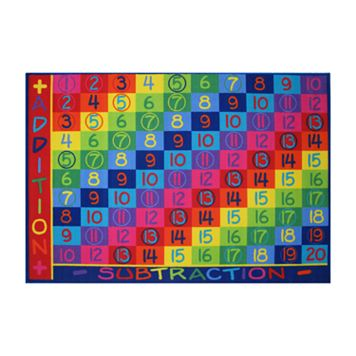 Fun Rugs Fun Time Addition Rug