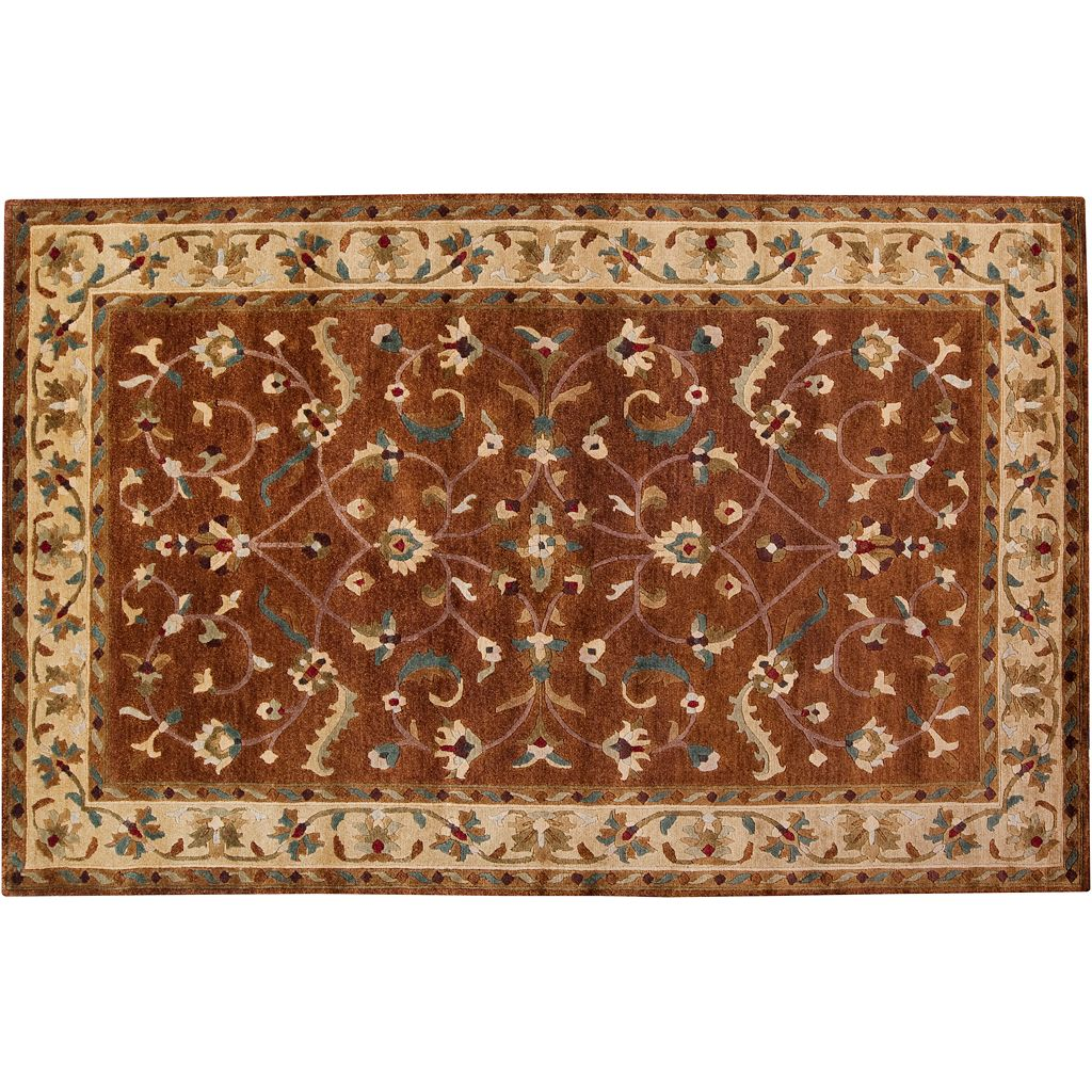 Artisan Weaver Kirtland Framed Trellis Wool Rug
