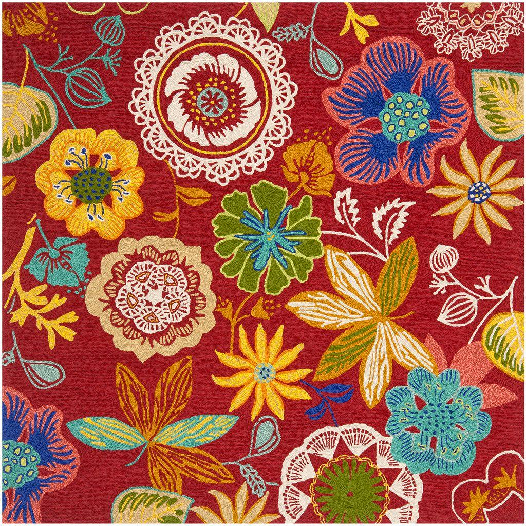 Safavieh Four Seasons Lauderhill Floral Indoor Outdoor Rug