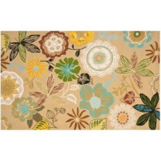 Safavieh Four Seasons Lauderhill Floral Indoor Outdoor Rug