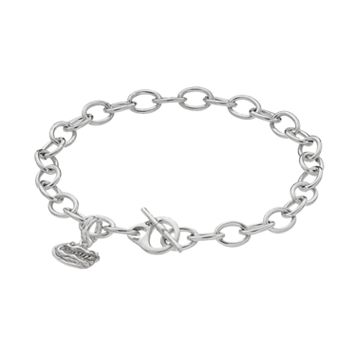 Dayna U Florida Gators Sterling Silver Toggle Bracelet
