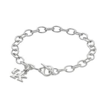 Dayna U Kentucky Wildcats Sterling Silver Toggle Bracelet