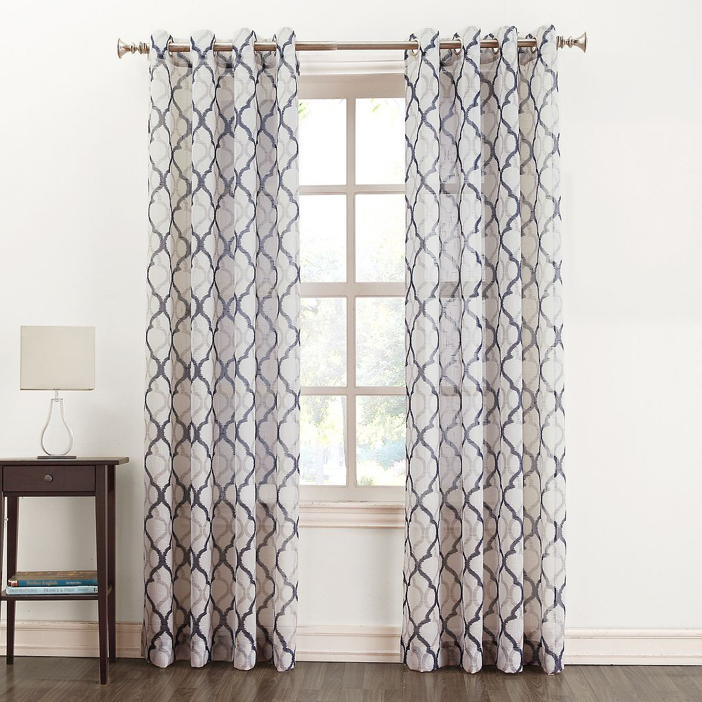 SONOMA Goods for Life™ Lona Semi-Sheer Window Curtain