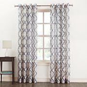 SONOMA Goods for Life™ Lona Semi-Sheer Window Curtain