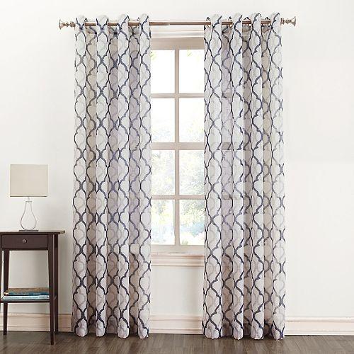 Sonoma Goods For Life Lona Semi Sheer Window Curtain