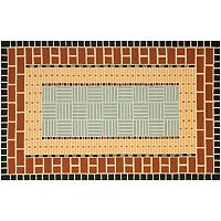 Safavieh Four Seasons Marianna Framed Geometric Indoor Outdoor Rug