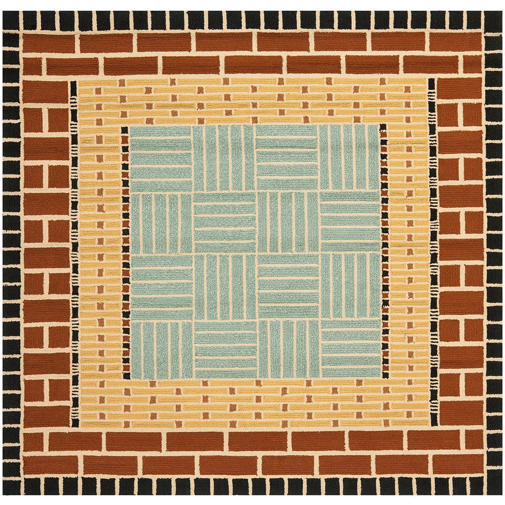 Safavieh Four Seasons Marianna Framed Geometric Indoor Outdoor Rug