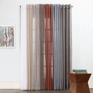 SONOMA Goods for Life? 1-Panel Ayden Linen Blend Sheer Window Curtain