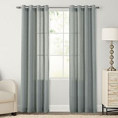 SONOMA Goods for Life™ 1-Panel Ayden Linen Blend Sheer Window Curtain