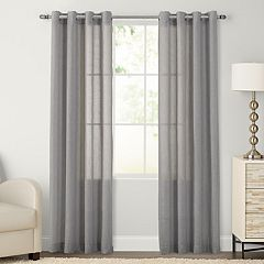 SONOMA Goods for Life™ Ayden Linen Blend Sheer Window Curtain