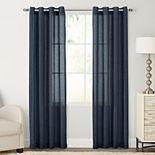 SONOMA Goods for Life® 1-Panel Ayden Linen Blend Sheer Window Curtain