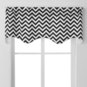 Ellis Curtains Reston Window Valance - 50'' x 17''