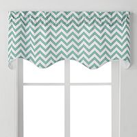 Ellis Curtains Reston Window Valance - 50'' x 17''