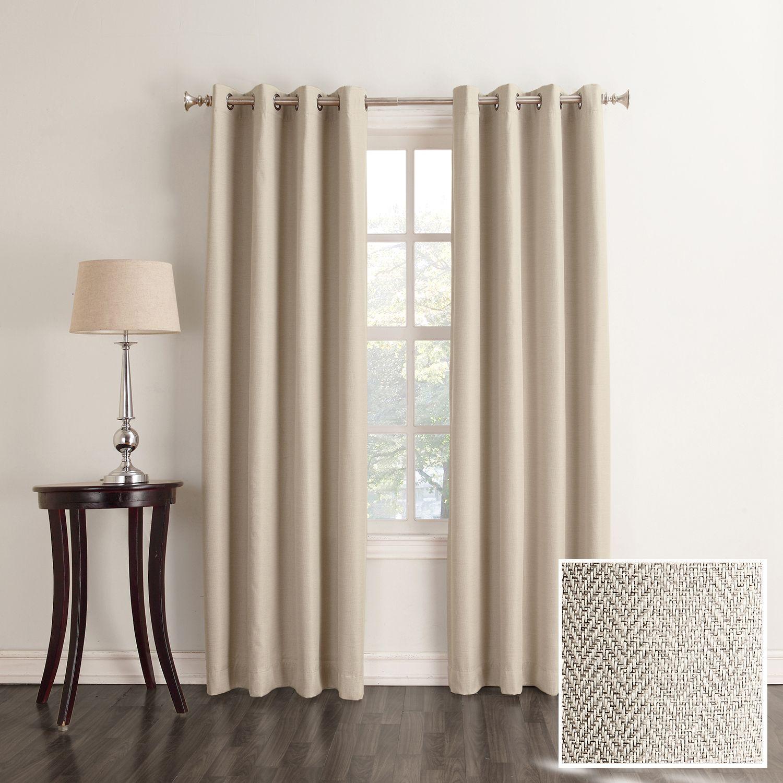 sonoma goods for life davis blackout window curtain