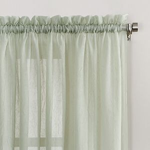 Sonoma Goods For Life® 1-Panel Crushed Voile Sheer Window Curtain