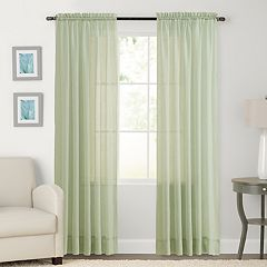 SONOMA Goods for Life™ 1-Panel Crushed Voile Sheer Window Curtain