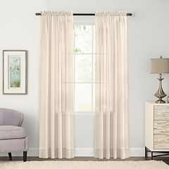 SONOMA Goods for Life™ Crushed Voile Window Curtain