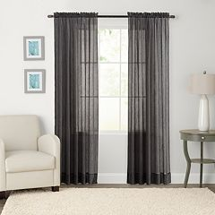 SONOMA Goods for Life™ Crushed Voile Sheer Window Curtain