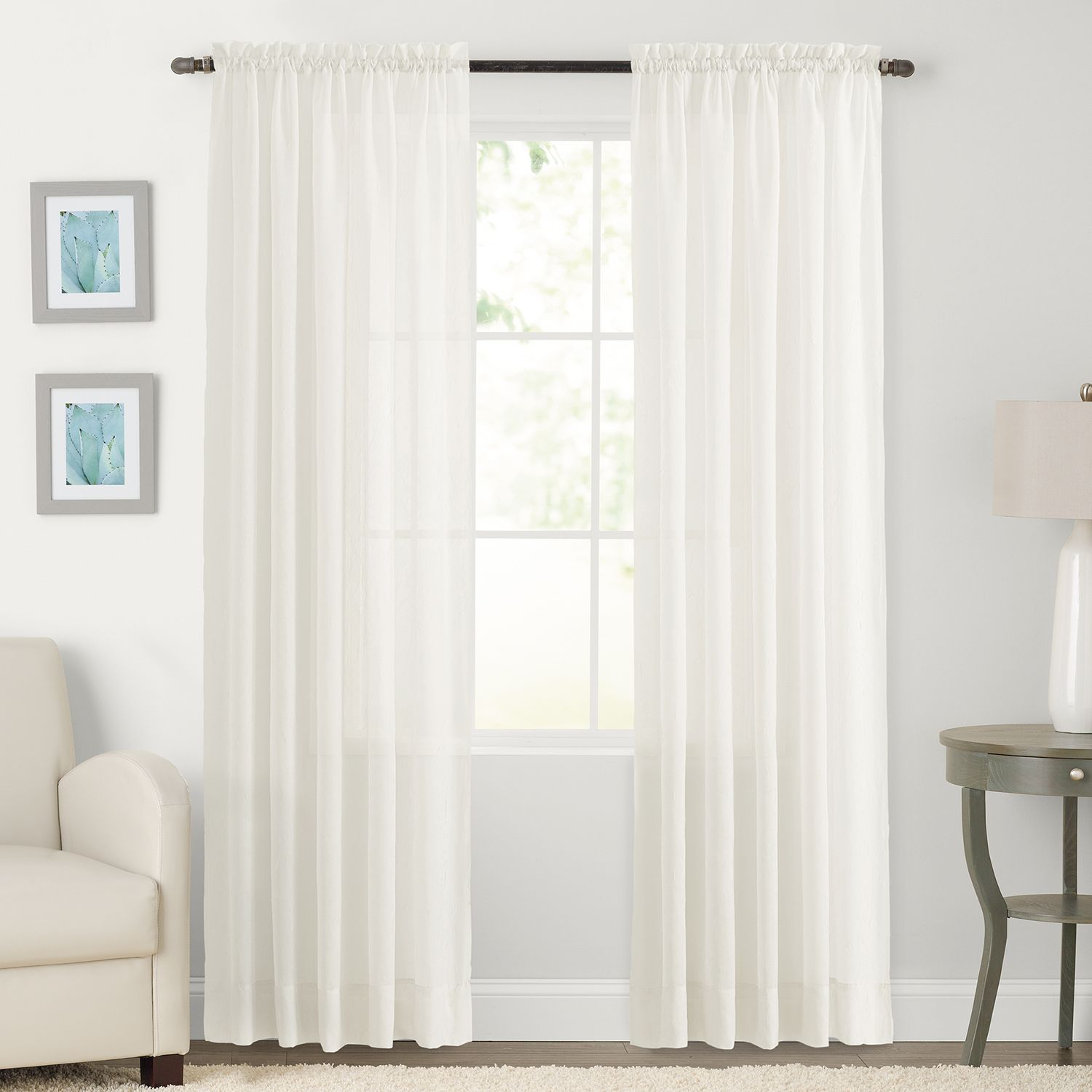 Marvelous SONOMA Goods For Life™ Crushed Voile Curtain