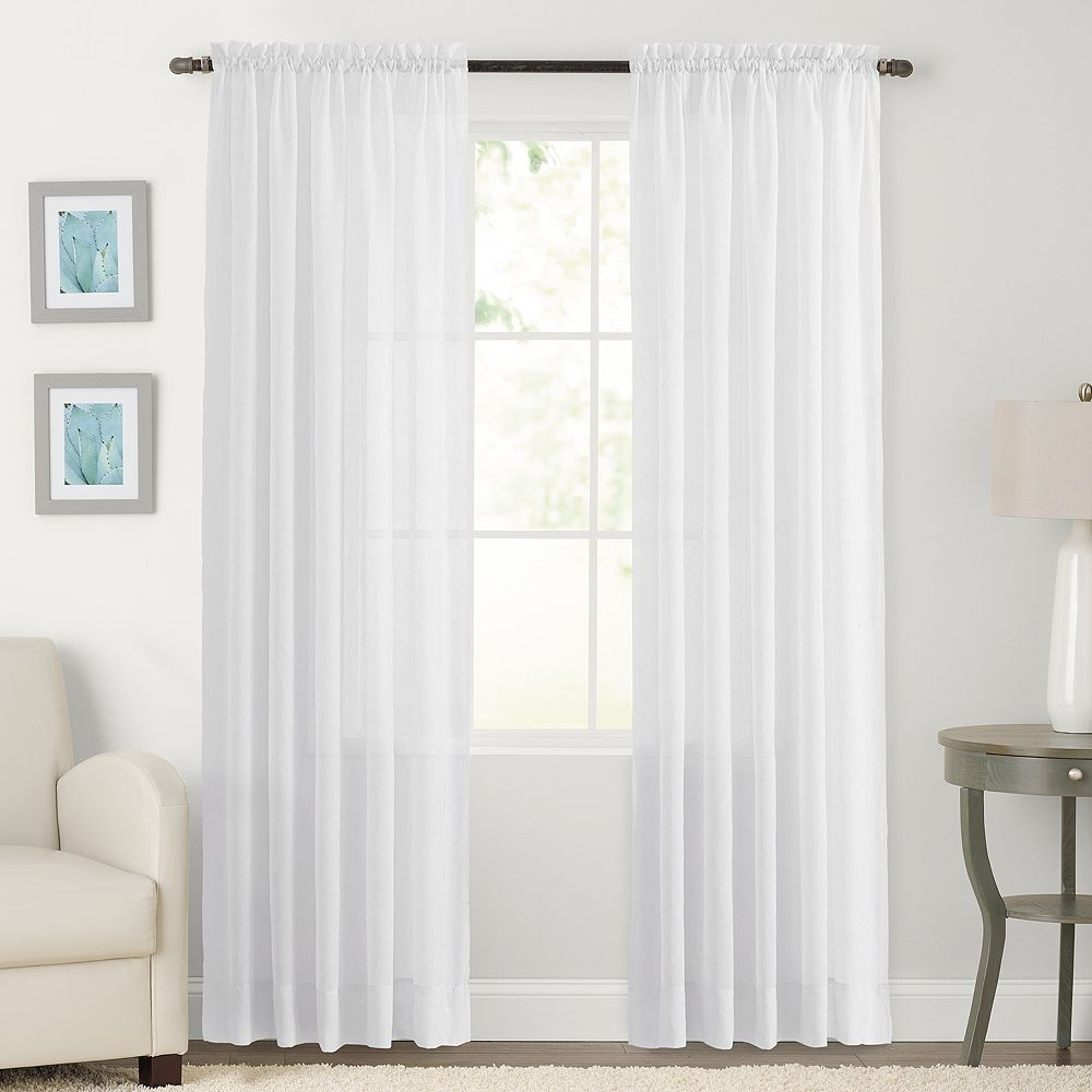 SONOMA Goods For LifeTM Crushed Voile Window Curtain