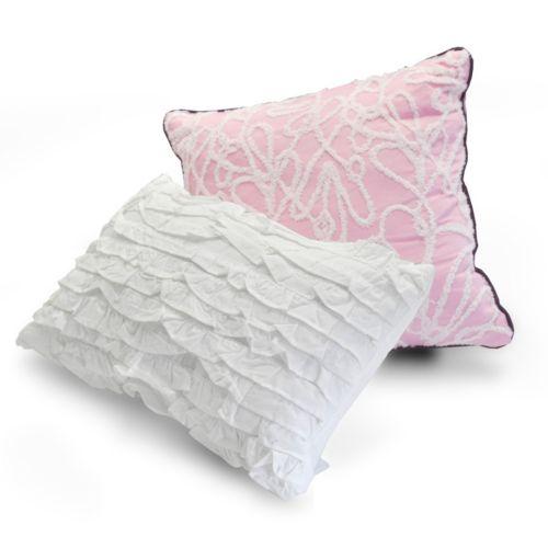 Seventeen 2-piece Twilight Eden Throw Pillow Set