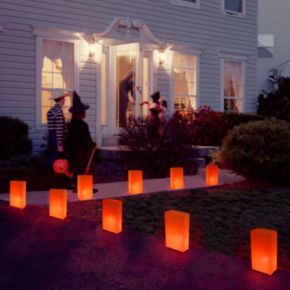 LumaBase Luminarias 10-Piece Electric Luminaria Kit