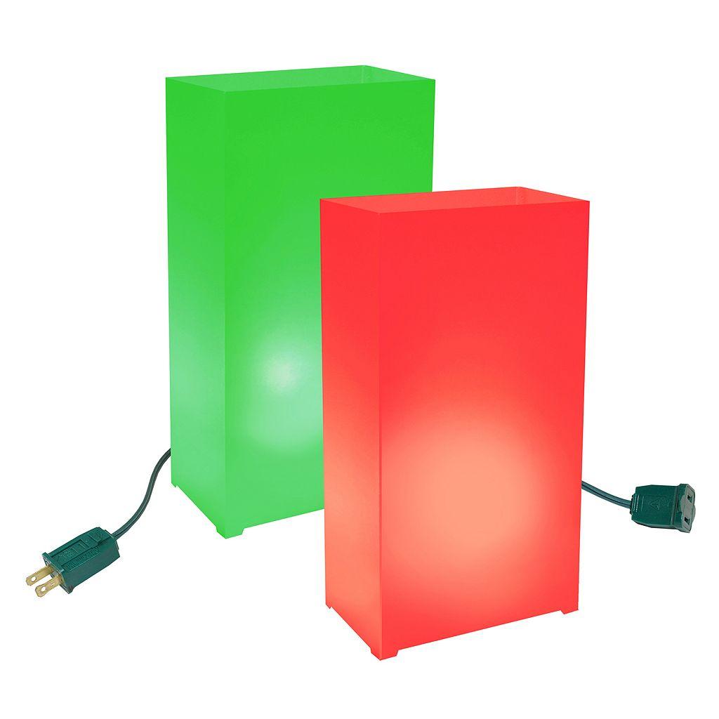 LumaBase Luminarias 10-Piece Electric Luminaria Kit