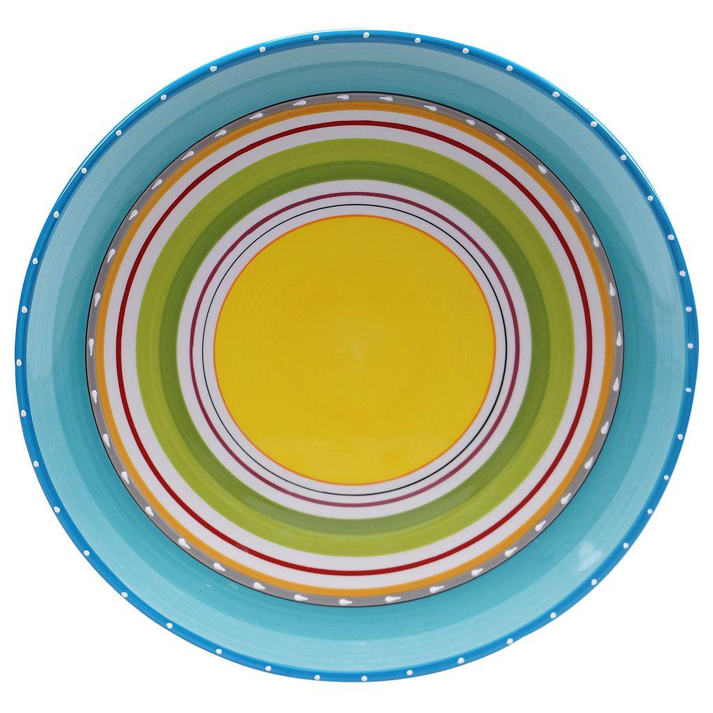 Certified International Mariachi 15-in. Round Serving Platter