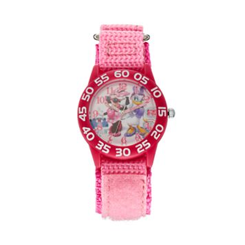 Disney's Minnie Mouse & Daisy Duck Girls' Time Teacher Watch