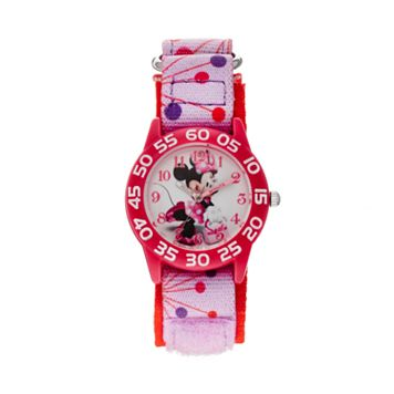 Disney's Minnie Mouse Girls' Time Teacher Watch