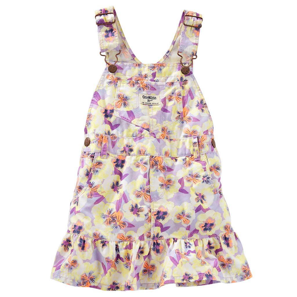 Toddler Girl OshKosh B'gosh® Floral Jumper