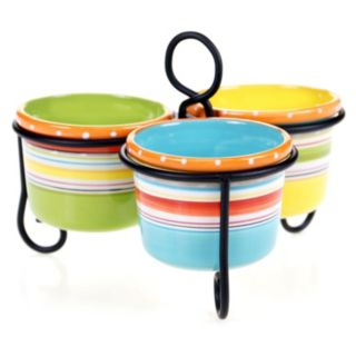 Certified International Mariachi 3-Section Bowl Server