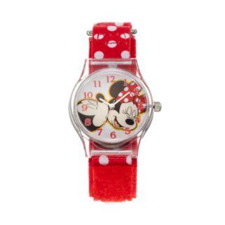 Disney's Mickey & Minnie Mouse Girls' Watch