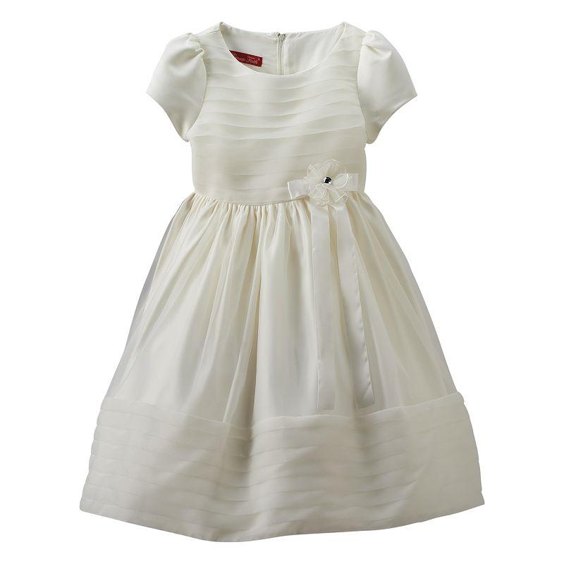 Princess Faith Flower Dress - Girls 7-16