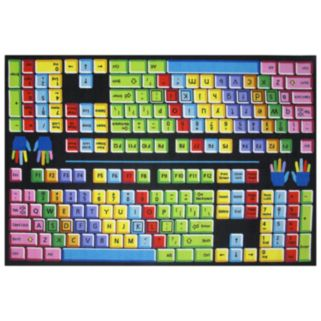 Fun Rugs Fun Time Keyboard Rug