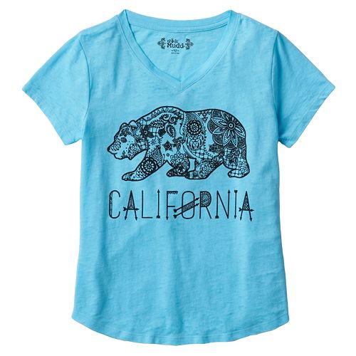 f706cfd7a Girls 7-16 & Plus Size Mudd® V-neck Graphic Tee